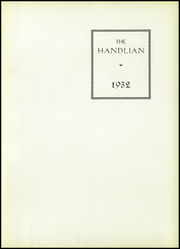 Page 7, 1932 Edition, Handley High School - Handlian Yearbook (Winchester, VA) online yearbook collection