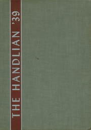 1939 Edition, Handley High School - Handlian Yearbook (Winchester, VA)