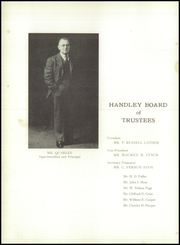 Page 14, 1942 Edition, Handley High School - Handlian Yearbook (Winchester, VA) online yearbook collection