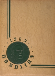 1953 Edition, Handley High School - Handlian Yearbook (Winchester, VA)
