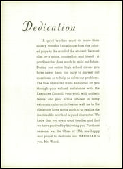 Page 10, 1955 Edition, Handley High School - Handlian Yearbook (Winchester, VA) online yearbook collection