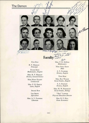 Page 12, 1946 Edition, Christiansburg High School - Demon Yearbook (Christiansburg, VA) online yearbook collection