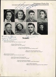 Page 15, 1946 Edition, Christiansburg High School - Demon Yearbook (Christiansburg, VA) online yearbook collection