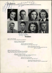 Page 16, 1946 Edition, Christiansburg High School - Demon Yearbook (Christiansburg, VA) online yearbook collection