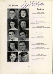 Page 16, 1947 Edition, Christiansburg High School - Demon Yearbook (Christiansburg, VA) online yearbook collection