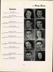 Page 17, 1947 Edition, Christiansburg High School - Demon Yearbook (Christiansburg, VA) online yearbook collection