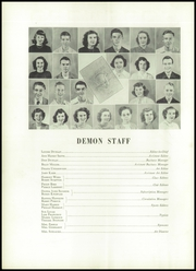 Page 10, 1950 Edition, Christiansburg High School - Demon Yearbook (Christiansburg, VA) online yearbook collection