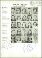Page 17, 1950 Edition, Christiansburg High School - Demon Yearbook (Christiansburg, VA) online yearbook collection