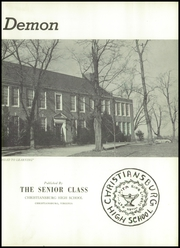 Page 9, 1950 Edition, Christiansburg High School - Demon Yearbook (Christiansburg, VA) online yearbook collection