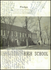 Page 7, 1953 Edition, Christiansburg High School - Demon Yearbook (Christiansburg, VA) online yearbook collection