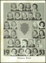 Page 8, 1953 Edition, Christiansburg High School - Demon Yearbook (Christiansburg, VA) online yearbook collection
