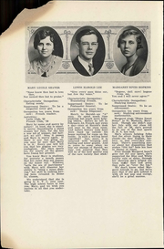 Page 14, 1930 Edition, Harrisonburg High School - Taj Yearbook (Harrisonburg, VA) online yearbook collection