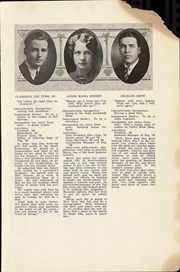 Page 7, 1930 Edition, Harrisonburg High School - Taj Yearbook (Harrisonburg, VA) online yearbook collection