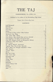Page 3, 1933 Edition, Harrisonburg High School - Taj Yearbook (Harrisonburg, VA) online yearbook collection