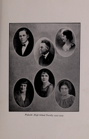 Page 15, 1924 Edition, Pulaski High School - Oriole Yearbook (Pulaski, VA) online yearbook collection