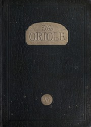 Pulaski High School - Oriole Yearbook (Pulaski, VA) online yearbook collection, 1928 Edition, Page 1