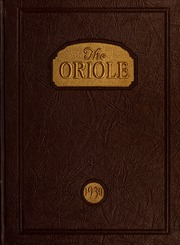 Pulaski High School - Oriole Yearbook (Pulaski, VA) online yearbook collection, 1930 Edition, Page 1