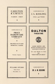 Page 164, 1930 Edition, Pulaski High School - Oriole Yearbook (Pulaski, VA) online yearbook collection