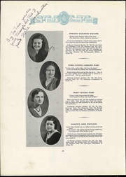 Page 34, 1932 Edition, Pulaski High School - Oriole Yearbook (Pulaski, VA) online yearbook collection
