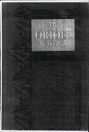 Pulaski High School - Oriole Yearbook (Pulaski, VA) online yearbook collection, 1933 Edition, Page 1
