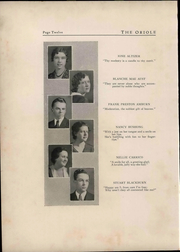 Page 16, 1933 Edition, Pulaski High School - Oriole Yearbook (Pulaski, VA) online yearbook collection