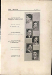 Page 17, 1933 Edition, Pulaski High School - Oriole Yearbook (Pulaski, VA) online yearbook collection