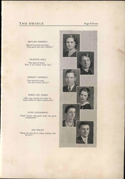 Page 19, 1933 Edition, Pulaski High School - Oriole Yearbook (Pulaski, VA) online yearbook collection