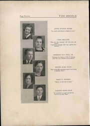 Page 20, 1933 Edition, Pulaski High School - Oriole Yearbook (Pulaski, VA) online yearbook collection