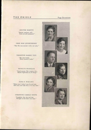 Page 21, 1933 Edition, Pulaski High School - Oriole Yearbook (Pulaski, VA) online yearbook collection
