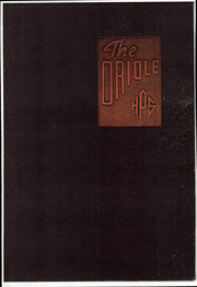 Pulaski High School - Oriole Yearbook (Pulaski, VA) online yearbook collection, 1936 Edition, Page 1