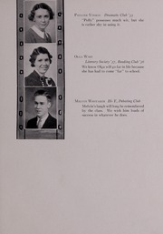 Page 71, 1937 Edition, Pulaski High School - Oriole Yearbook (Pulaski, VA) online yearbook collection