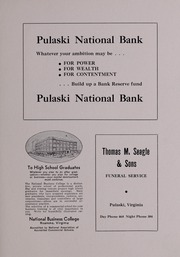 Page 83, 1937 Edition, Pulaski High School - Oriole Yearbook (Pulaski, VA) online yearbook collection