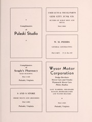 Page 89, 1940 Edition, Pulaski High School - Oriole Yearbook (Pulaski, VA) online yearbook collection