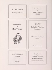 Page 92, 1940 Edition, Pulaski High School - Oriole Yearbook (Pulaski, VA) online yearbook collection
