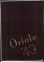 Pulaski High School - Oriole Yearbook (Pulaski, VA) online yearbook collection, 1943 Edition, Page 1