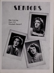 Page 39, 1944 Edition, Pulaski High School - Oriole Yearbook (Pulaski, VA) online yearbook collection