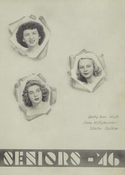 Page 39, 1946 Edition, Pulaski High School - Oriole Yearbook (Pulaski, VA) online yearbook collection