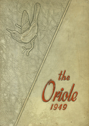 Pulaski High School - Oriole Yearbook (Pulaski, VA) online yearbook collection, 1949 Edition, Page 1