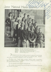 Page 45, 1949 Edition, Pulaski High School - Oriole Yearbook (Pulaski, VA) online yearbook collection