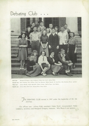 Page 50, 1949 Edition, Pulaski High School - Oriole Yearbook (Pulaski, VA) online yearbook collection