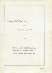 Page 85, 1949 Edition, Pulaski High School - Oriole Yearbook (Pulaski, VA) online yearbook collection