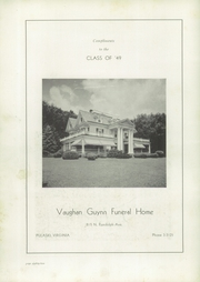 Page 86, 1949 Edition, Pulaski High School - Oriole Yearbook (Pulaski, VA) online yearbook collection