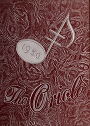 Pulaski High School - Oriole Yearbook (Pulaski, VA) online yearbook collection, 1950 Edition, Page 1