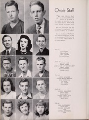 Page 10, 1950 Edition, Pulaski High School - Oriole Yearbook (Pulaski, VA) online yearbook collection