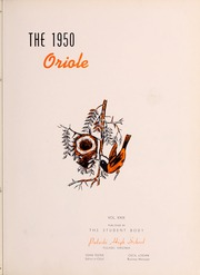 Page 7, 1950 Edition, Pulaski High School - Oriole Yearbook (Pulaski, VA) online yearbook collection