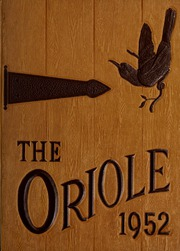 Pulaski High School - Oriole Yearbook (Pulaski, VA) online yearbook collection, 1952 Edition, Page 1