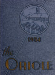 Pulaski High School - Oriole Yearbook (Pulaski, VA) online yearbook collection, 1954 Edition, Page 1
