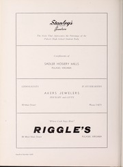 Page 134, 1955 Edition, Pulaski High School - Oriole Yearbook (Pulaski, VA) online yearbook collection