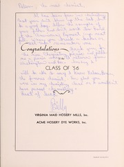 Page 127, 1956 Edition, Pulaski High School - Oriole Yearbook (Pulaski, VA) online yearbook collection