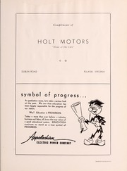 Page 131, 1956 Edition, Pulaski High School - Oriole Yearbook (Pulaski, VA) online yearbook collection